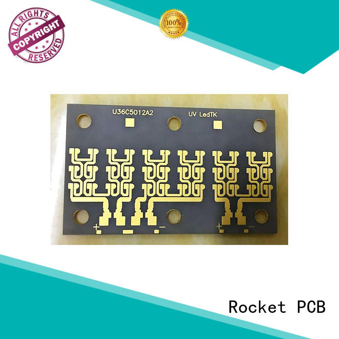 Rocket PCB thermal metal base pcb material conductivity for base material