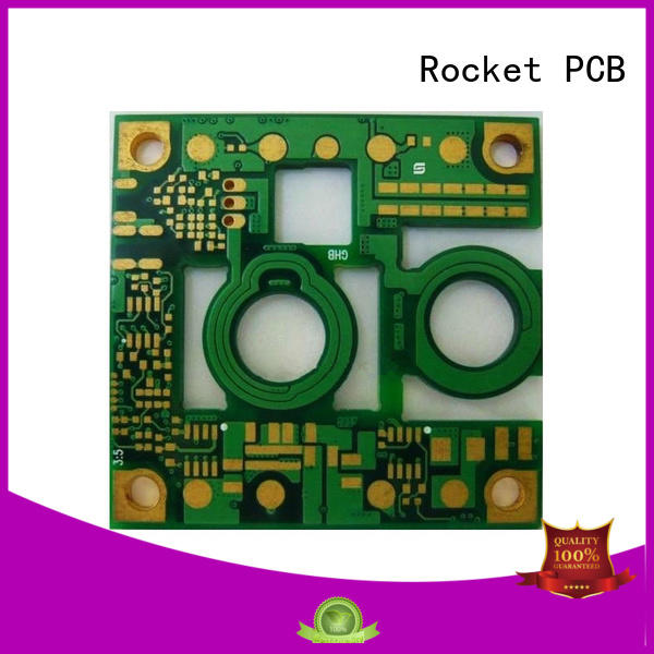 heavy printed circuit board assembly for device Rocket PCB