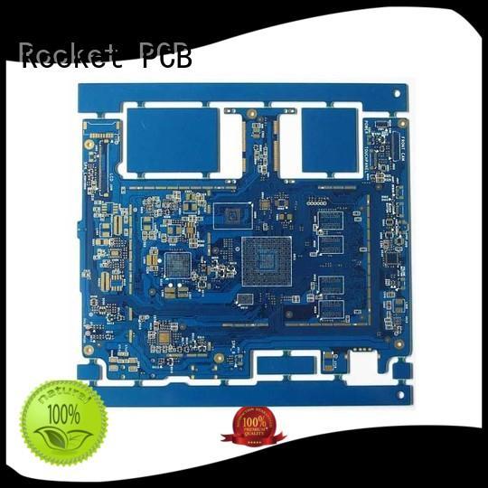manufacturing pcb circuit board density usage Rocket PCB