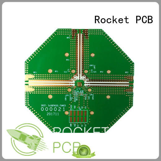 Hybrid PCB Mixed structure PCB and rogers pcb rogers4350+FR4