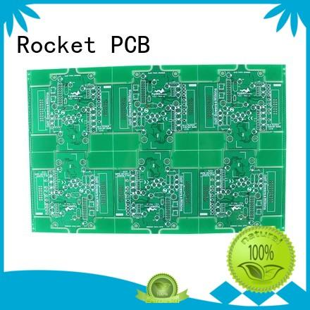 Rocket PCB prototyping double sided pcb board sided consumer security