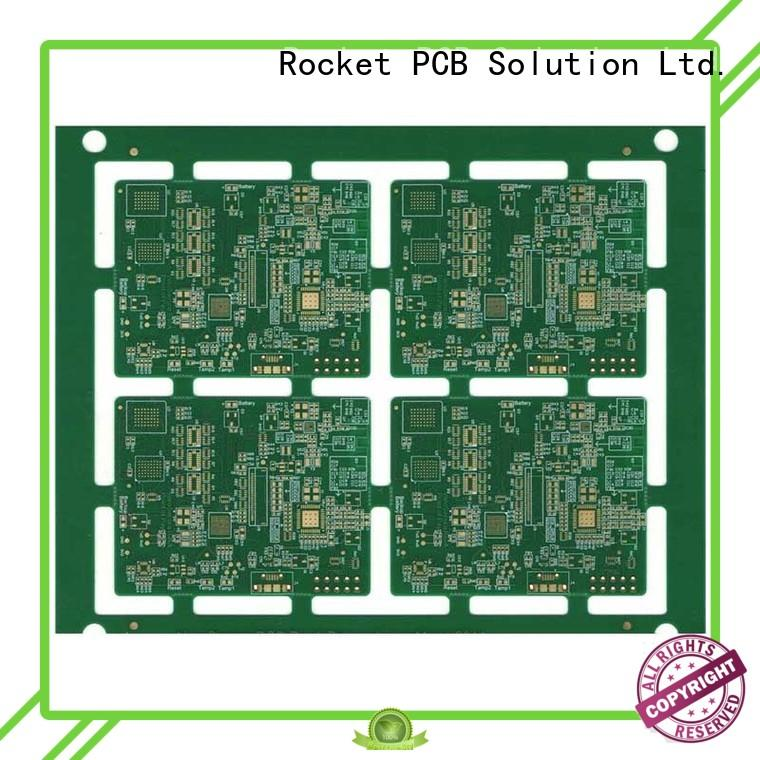 Rocket PCB manufacturing pcb hdi laser hole wide usage