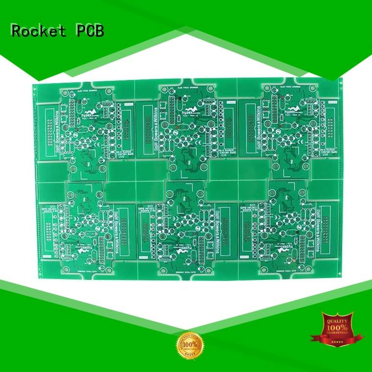 double sided printed circuit board hot-sale digital device Rocket PCB