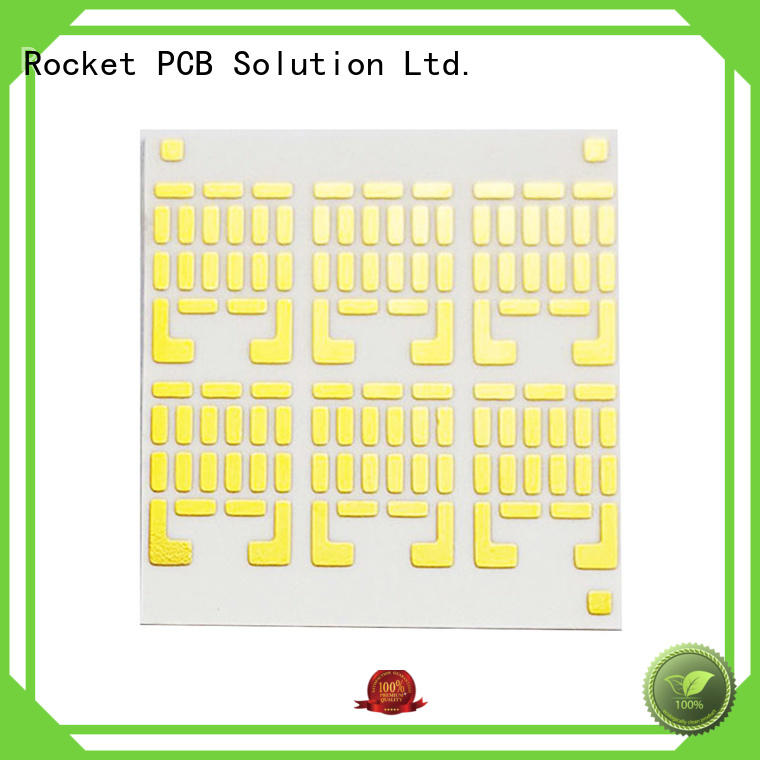 pcb pwb fabrication base for electronics Rocket PCB