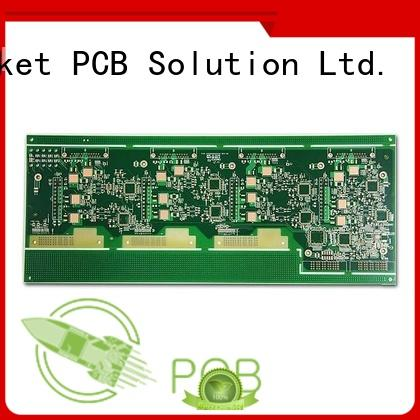 Rocket PCB rigid pcb board thickness smart control for pcb buyer