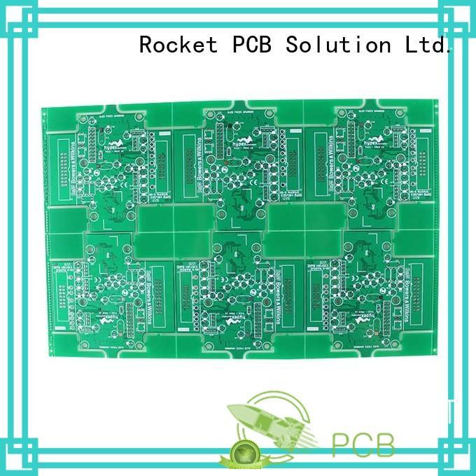 custom double sided pcb board sided digital device Rocket PCB