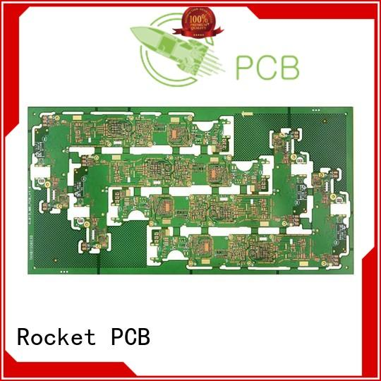 stacked HDI PCB fabrication hdi production Rocket PCB