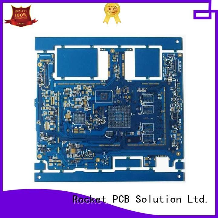 Rocket PCB customized pcb fabrication density interior electronics
