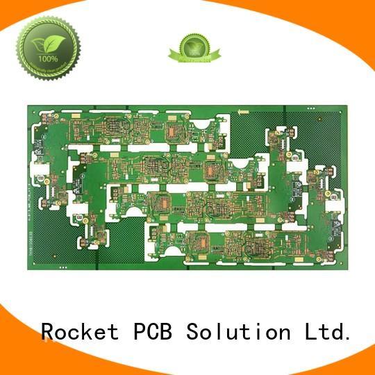 Rocket PCB free sample pcb prototyping mircovias bulk production