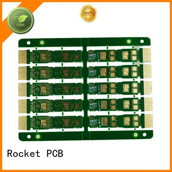 Rocket PCB professional plated holes fingers import