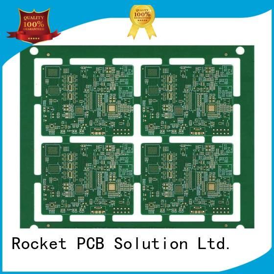 Rocket PCB manufacturing HDI PCB laser hole wide usage