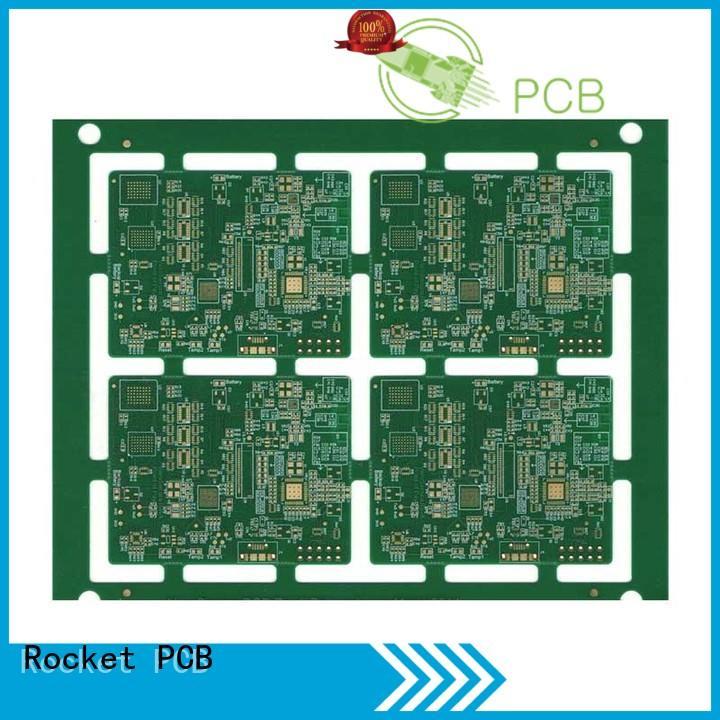 Rocket PCB pcb pcb fabrication hole usage