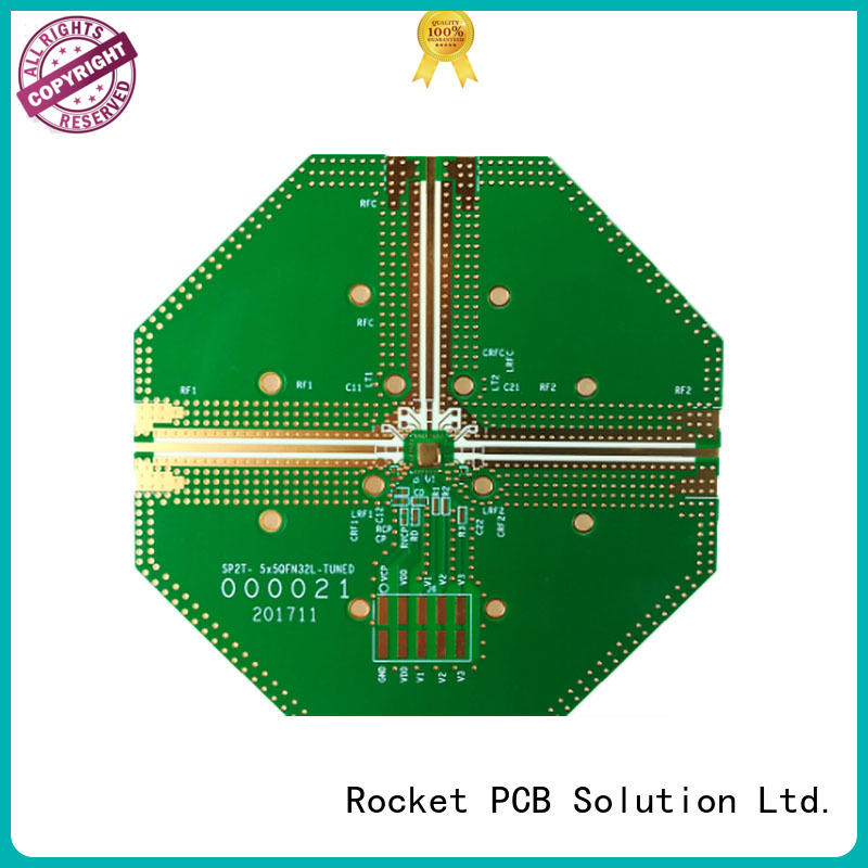 Rocket PCB structure printed circuit board testing rogers for electronics