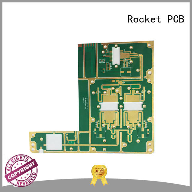 microwave pcb customized instrumentation Rocket PCB