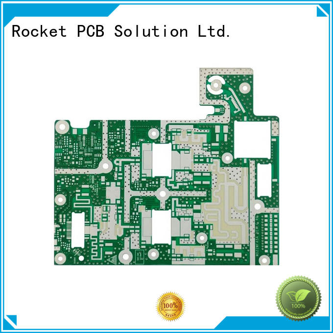 Rocket PCB micro-wave rf pcb manufacturer hybrid industrial usage
