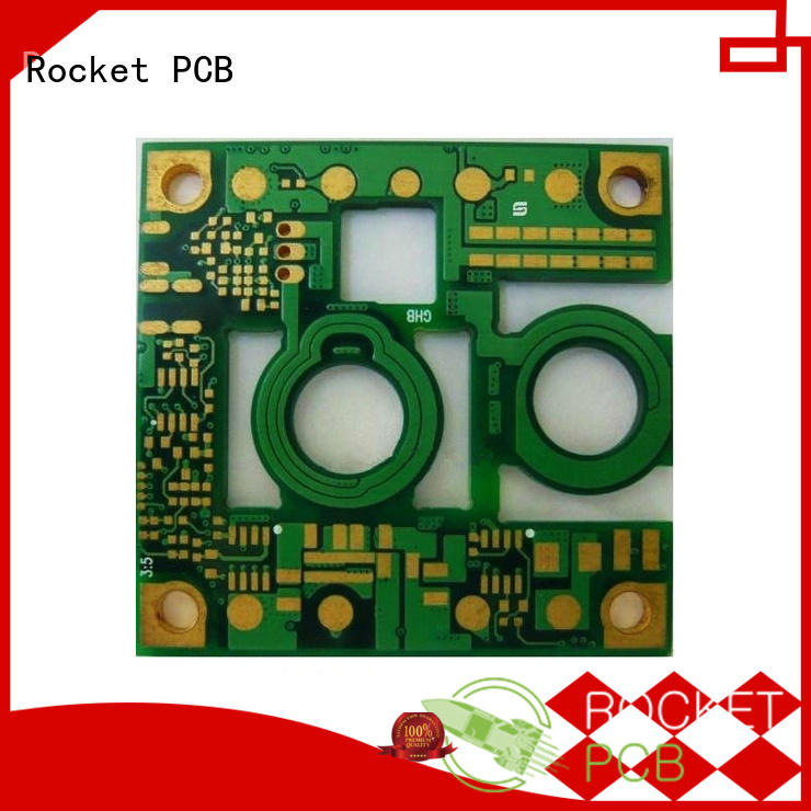 Rocket PCB copper electronic printed circuit board maker for device