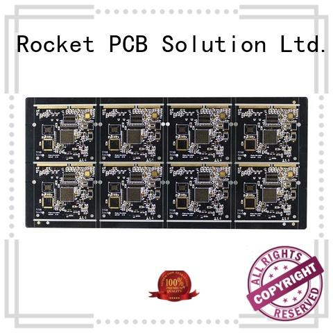 Rocket PCB gold motherboard pcb plating for import
