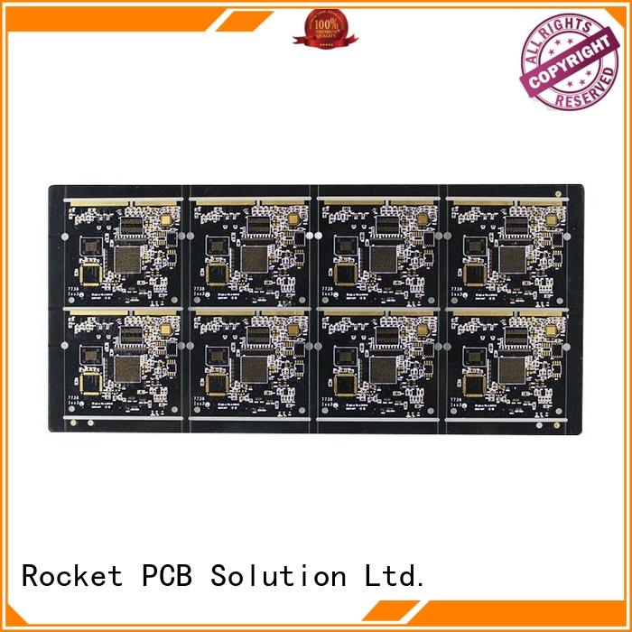 Rocket PCB plated gold bonding finger pcb fingers for import