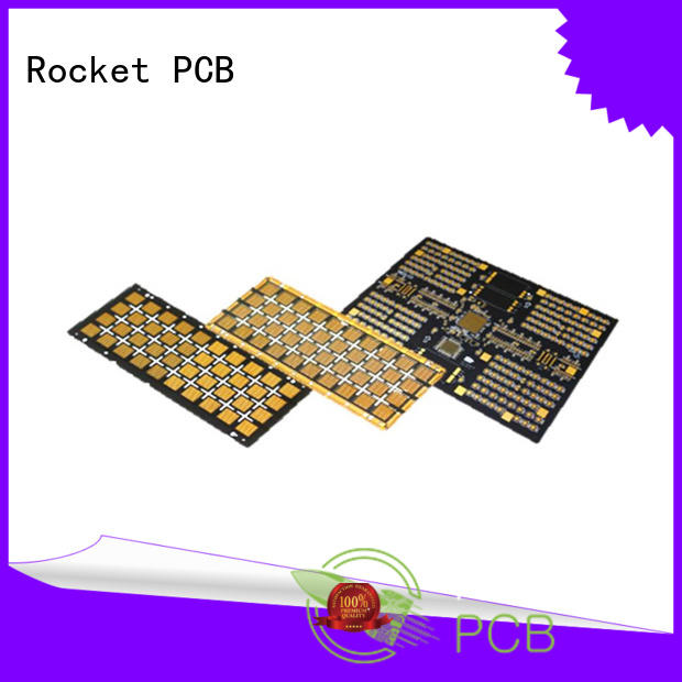 Rocket PCB aluminum electronic circuit board circuit for digital products