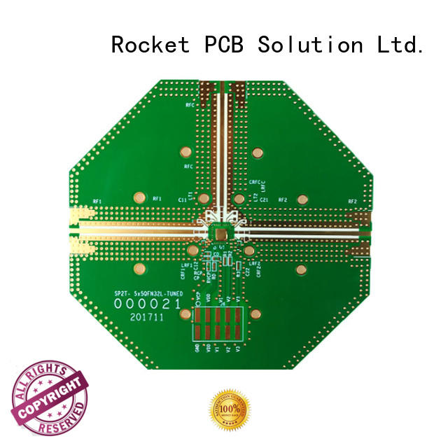 frequency rogers pcb structure for electronics Rocket PCB