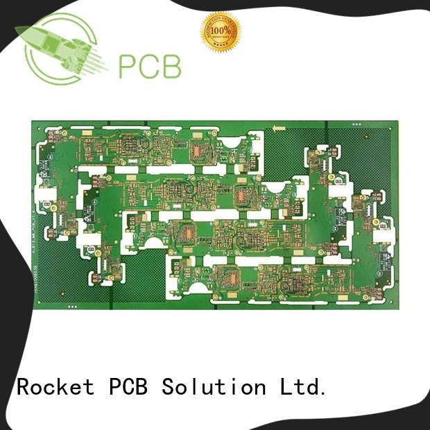 Rocket PCB stacked double layer pcb precision for sale