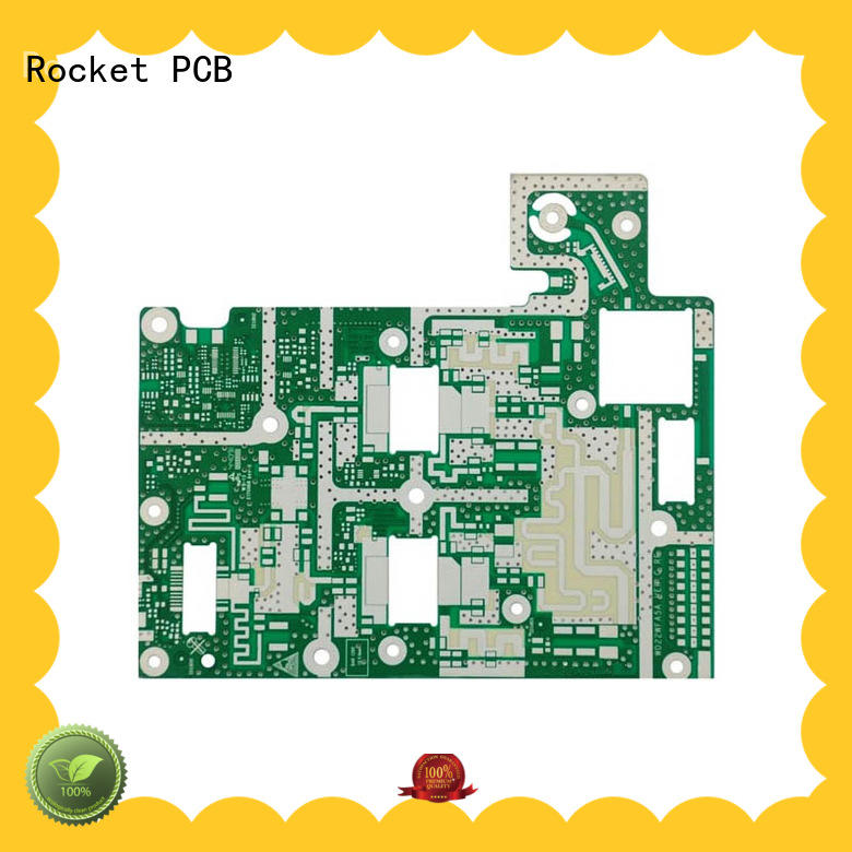 Rocket PCB board microwave pcb bulk production instrumentation