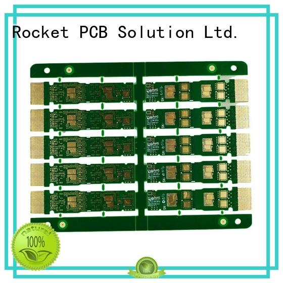 Rocket PCB optional golden finger pcb staged for import