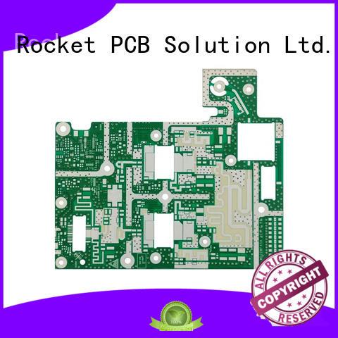 microwave PCB production hybrid instrumentation Rocket PCB
