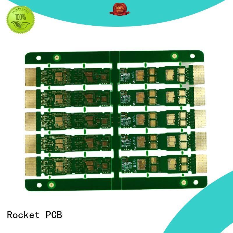 Rocket PCB popular gold bonding finger pcb plating for wholesale