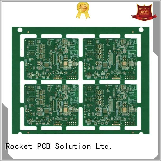 free sample how to design pcb board laser hole wide usage