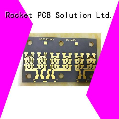 Rocket PCB conductivity ceramic pcb manufacturer base for base material