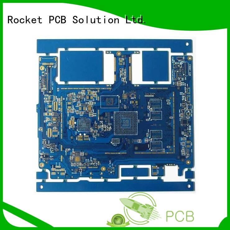 multistage pcb fabrication laser hole interior electronics