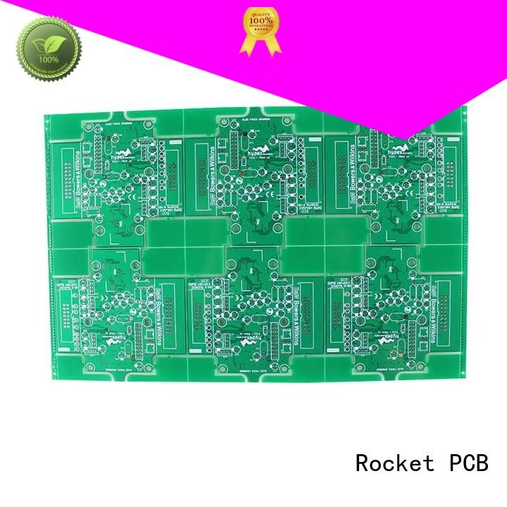 Rocket PCB custom single sided printed circuit board sided electronics