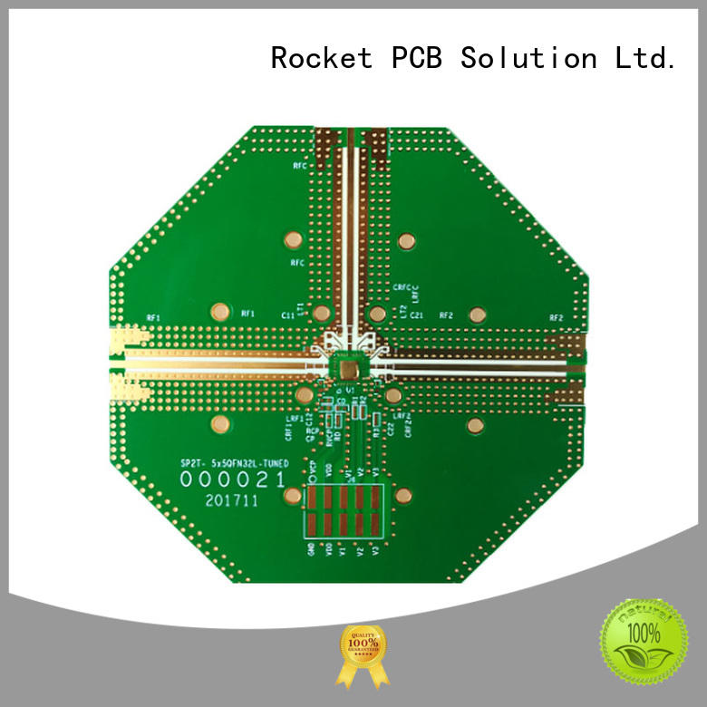 rf applications frequency for digital product Rocket PCB