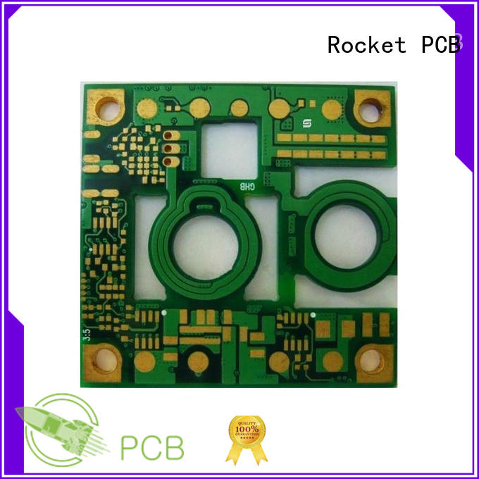 Rocket PCB thick printed circuit board assembly copper for digital product
