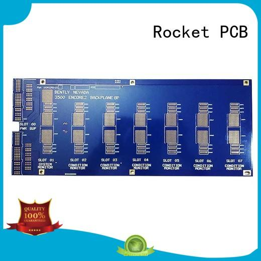 Rocket PCB printed circuit board manufacturing process board for vehicle