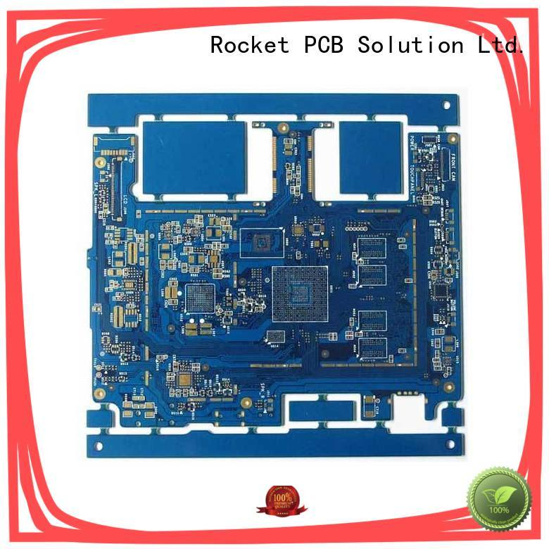 Rocket PCB hdi pcb design and fabrication laser hole wide usage