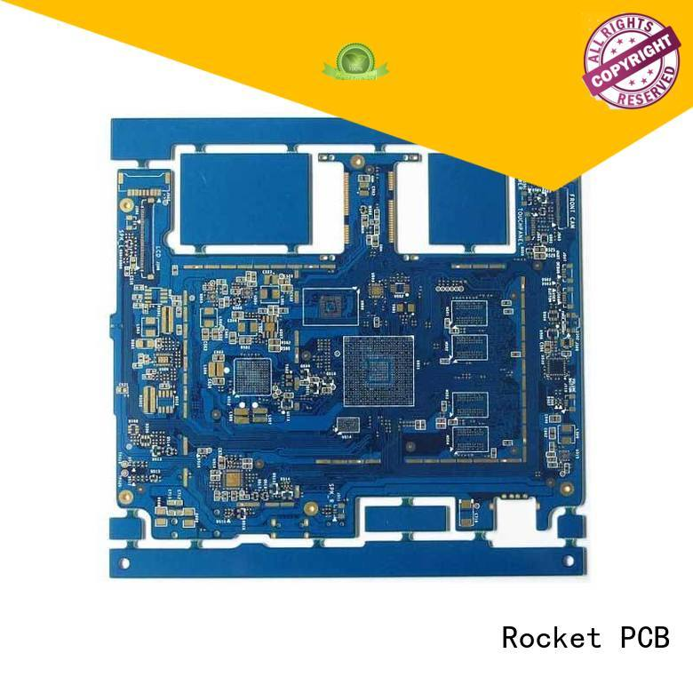 manufacturing HDI PCB maker pcb laser hole wide usage