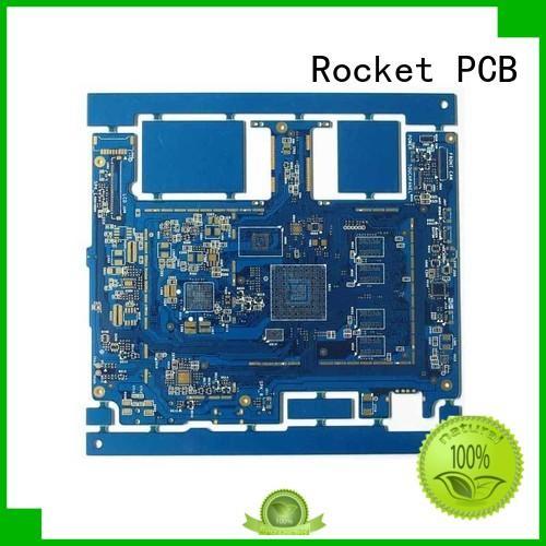 Rocket PCB free sample HDI PCB maker laser hole wide usage