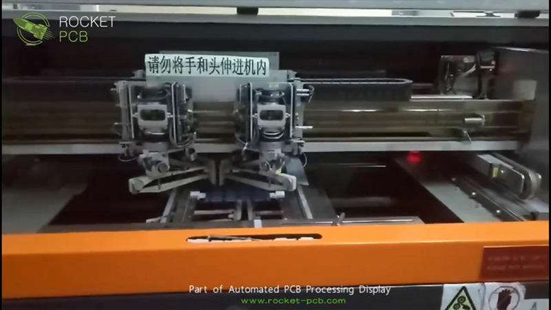 Part of PCB Manufacturing PCB equipment show